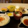 琴平 - 料理写真:季節の定食全景です、うどんが遅刻しました