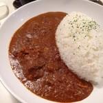 カルダモン食堂 - カルダモンカレー大盛(+100円)・10辛アップ(+100円)900円