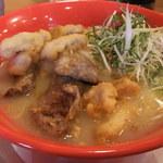 ぺこり - 鶏唐揚とろり細麺 990円