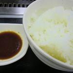 やきやき亭 - タレとご飯
