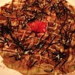ふがらさ - ヒラヤ-チー、沖縄風お好み焼きもいける