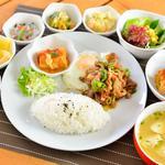 キッチンHANA-GASA - 【ランチ】焼肉プレート800円
