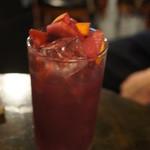 21766566 - サングリアはすごく飲みやすくて美味しい!