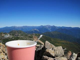 乗鞍岳 頂上小屋 - コーヒー