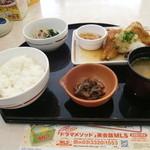 ガスト - カレイの竜田揚げおろしポン酢和膳