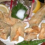 珊瑚礁 - <クエの唐揚げ>黙って食べてみて下さい!