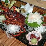 珊瑚礁 - <特選珊瑚礁定食(活造りコース主皿)>