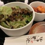 江戸匠苑 - サラダ&キムチ(3種)盛合せ