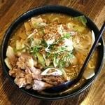 らぁめん銀波露 - 野菜盛りらぁ麺・醤油(750円)