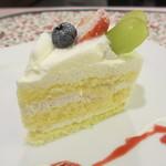 カフェラカム - ショートケーキ