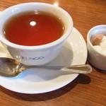 ファンゴー - セットの紅茶