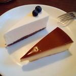 カフェ・ココ・タンタ - 2種類づつ注文できるケーキバイキング。混んでる時間はケーキの回転もはやくて楽しめます。プリンが美味しかったです!