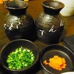 鍋ぞう - 2013年9月 薬味