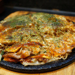 かみなり - 料理写真:広島焼き