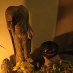 黒猫夜 - 黒猫提灯と久々対面!