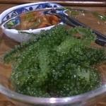 Mitsukobabanodaidokoro - 海ぶどう。