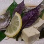 Mitsukobabanodaidokoro - 近海魚のマース煮。
