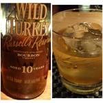 DiningBar - ウイスキー系も充実していますね。ワイルドターキー10年は珍しい。