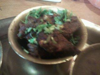 ネパリコ - 山羊肉のタルカリ