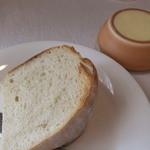 ポールロジェ - 自家製パン 、バター