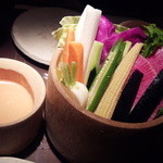 21774664 - 京野菜のバーニャカウダ