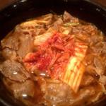 喜陽亭 - キムチ和牛肉うどん