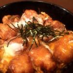 喜陽亭 - 但馬地鶏の鶏天とじ丼