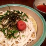 喜陽亭 - 梅ざるうどん