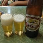 みのかん - ビール(大瓶)¥450