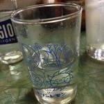 みのかん - 酎ハイの焼酎をサワーグラスと可愛いグラスに分けて持って来てくれました!