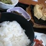 21777795 - 焼き豆腐定食
