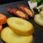 野菜家さい - 北海道野菜 人参食べ比べ
