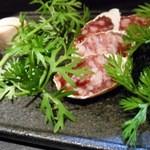 野菜家さい - 北海道帯広産「どろぶた」白カビサラミ