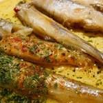 野菜家さい - 北海道むかわ町産「柳葉魚」オイル漬け
