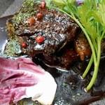 野菜家さい - 豚肉の赤ワイン煮込み