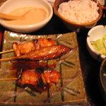 2178737 - 鶏串焼き定食