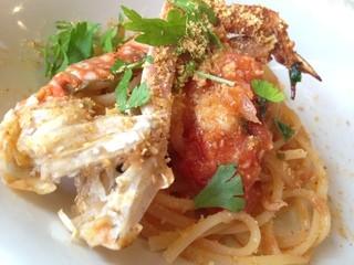 アンティカ トラットリア チーボ - 渡り蟹のトマトソース