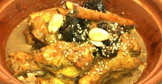 モロッコ料理カサブランカ - チキンタジン