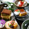 かぼ茶庵 - 料理写真:何種ものなかから選べるデザートはやっぱり人気です。和風・洋風両方揃ってます。