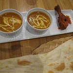 インドレストランカフェ カリカ - 2つのカレーを選べるセット