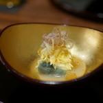 徳 うち山 - 秋茄子と毛蟹