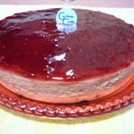 御献上カスティーラ - 料理写真:ラズベリーのチーズケーキ 1500円