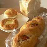 Bread & Break - 料理写真:合計 602円