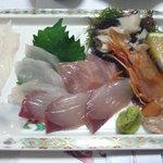 活魚料理の店 網元 - 刺身定食 1890円