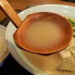九州鍋家 KATETE - 「長崎」ちゃんぽんのスープ