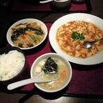chuugokuryourichimmin - 麻婆ランチ