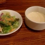 キッチン一朗 - サラダとスープ
