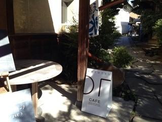小布施堂 えんとつ - お店の前のテーブルで、頂きました^ ^