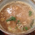 椿 - つけめんスープ