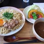 カレー屋麺八 - 滋賀野菜のカレーつけ麺¥900